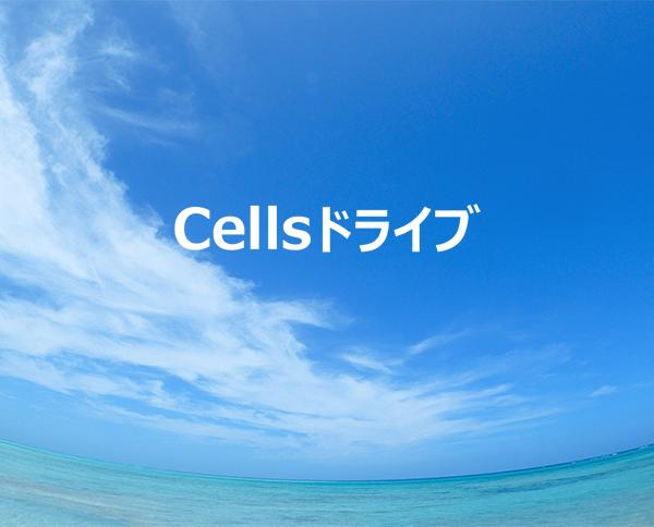 「これから使う」あなたへ贈る まるごと、Cellsドライブ